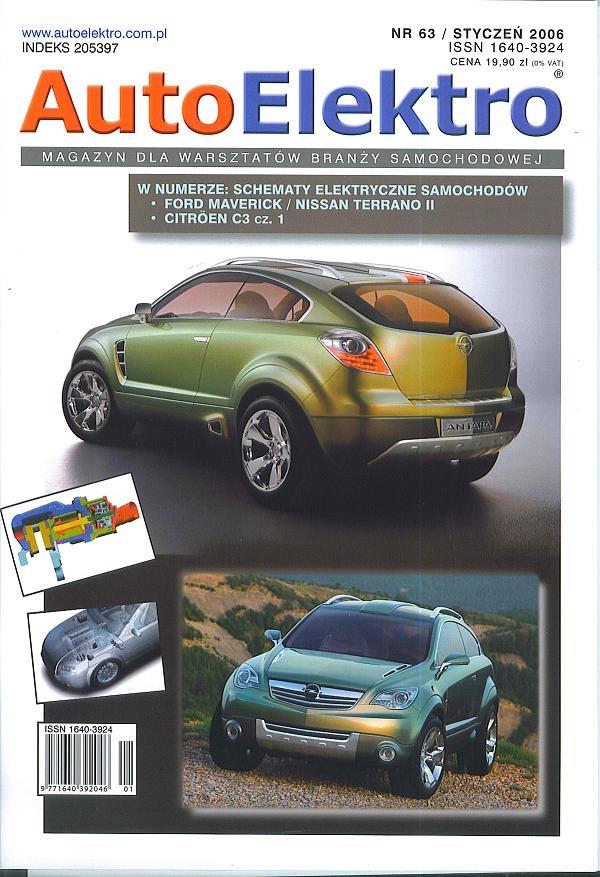 Schema Elettrico Nissan Terrano 2 : Autoelektro schemat elektryczny ford maveric nissan