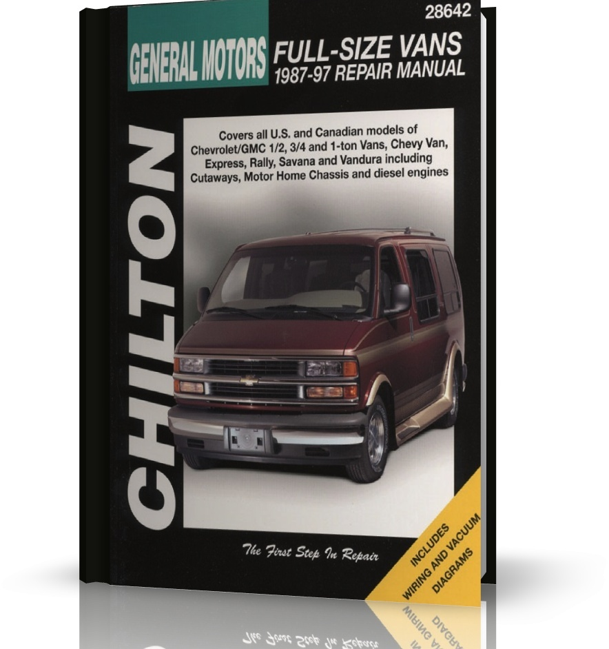 General Motors Full Size Vans 1987 1997 Chilton Manual