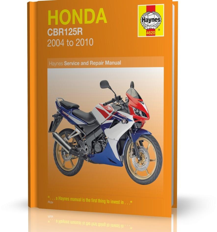honda cbr125r 2004 2010 instrukcja napraw haynes rh motodane pl Honda CBF  125 Honda CB 125