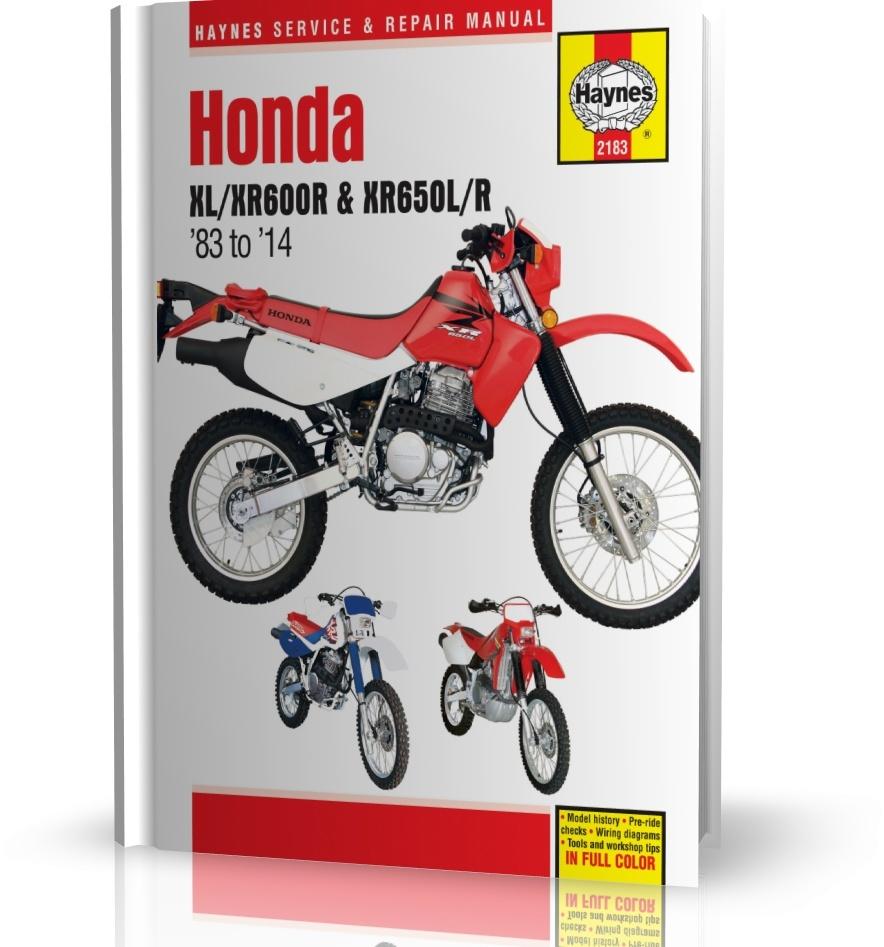 Honda Xl600r Xr600r Xr650l Xr650r 1983 2014 Instrukcja Napraw Wiring Diagram Haynes