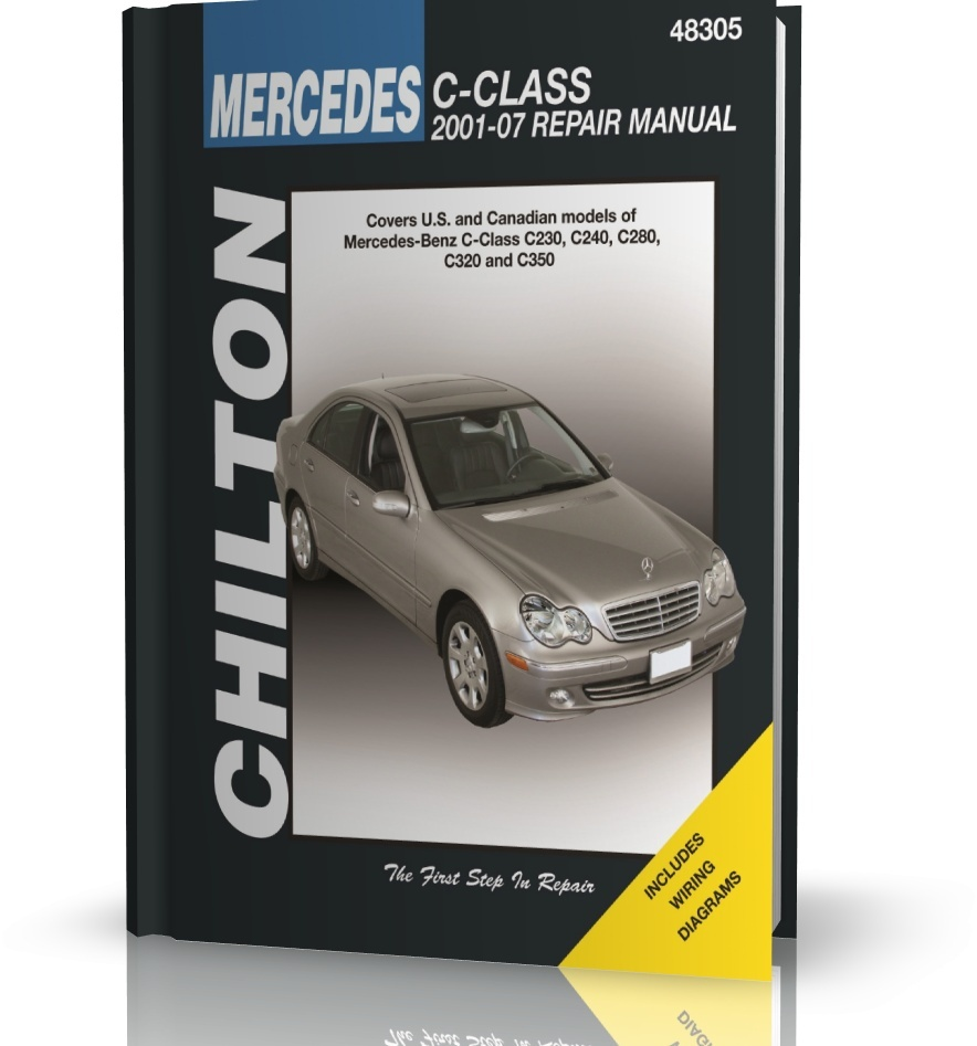 Mercedes c class c230 c240 c280 c320 c350 2001 07 for 2001 mercedes benz c320 owners manual