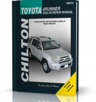 TOYOTA 4RUNNER 2003 - 2009. Chilton Repair Manual